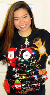 nonachewy diy ugly christmas sweater
