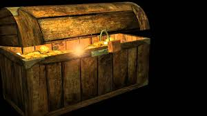 my first 3d model treasure chest youtube