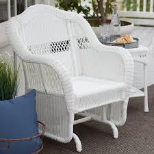 Fake Wicker Patio Furniture - amazon com coral coast casco bay resin wicker outdoor glider