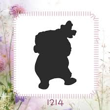 jungle book stencil or wall decal zoom