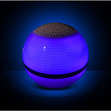 light up portable speaker electro bluetooth light up led portable rechargeable speaker with