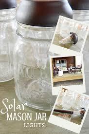 solar light crafts diy solar lamp creative cain cabin