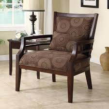 Wooden Accent Chair Lovable Wooden Accent Chair With Furniture Black Wooden Spider