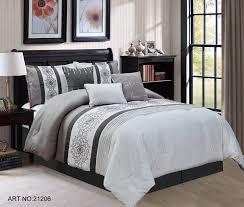Red And Grey Comforter Kinglinen Com