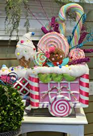 awesome diy candyland decorations paper chritsmas decor