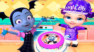 vampirina birthday cake real cake maker 3d birthday cake baby