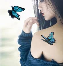 40 colourflul butterfly tattoozza