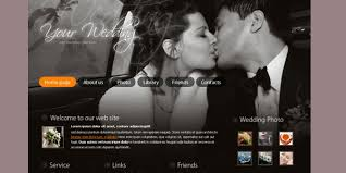 free wedding website 20 awesome wedding website templates which are free