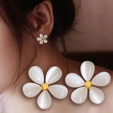 ear cuffs singapore hot sale five leaves white clip earrings without piercing