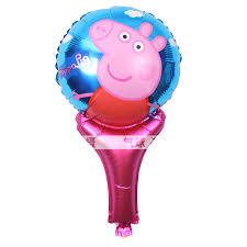 pig balloons wholesale 50pcs lot fancy happy pink pig balloons foil