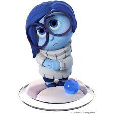 infinity disney infinity 3 0 pixar sadness figure universal walmart com
