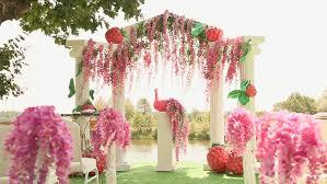wedding arch kuching kuching malaysia 12 july 2013 ornament on the near of