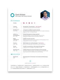 Resume Design Online by 10 Cool Resumes Made By Professional Graphic Designers Learn It