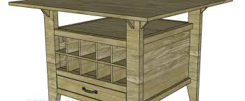 Game Table Plans Build A Fabulous Game Table With Wine Storage U2013 Designs By Studio C