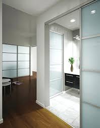Room Divider Sliding Door Ikea - half room divider sliding glass dividers in home office the door