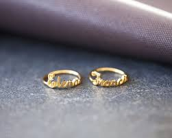 gold name ring custom name ring personalized name ring mothers day gift