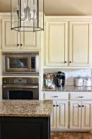 White Glass Kitchen Cabinets by Kitchen Fetching Small Vintage Kitchen Decoration Using White