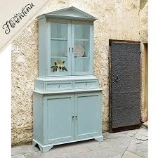 glass doors hutch serving cabinet