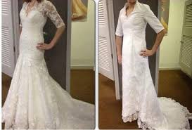 buy wedding dresses online angry brides their bridal gown horror stories daily mail