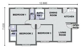 3 bedroom house plans 3 bedroom house plans 3 bedroom house plans in 3 bedroom 2 bath
