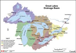 canadian map with great lakes map of canada and lakes major tourist attractions maps