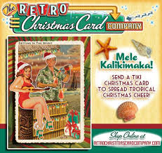 tropical christmas cards vintage tropical christmas cards tiki bar tiki central