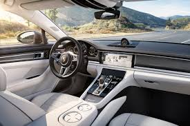 porsche panamera inside the key technologies inside the 2017 porsche panamera turbo