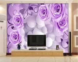wallpaper bunga lingkaran beibehang 3d wallpaper kepribadian tiga dimensi lingkaran bunga