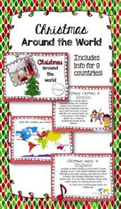 christmas around the world set includes interactive pdf and