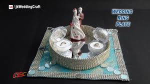 diy engagement wedding ring platter how to make jk wedding