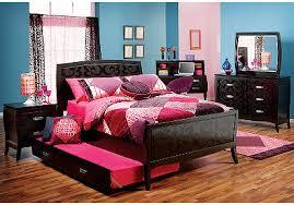 Noir Cherrytwin Bedroom Rooms Kidskids Bedroom Sets - Rooms to go kids bedroom