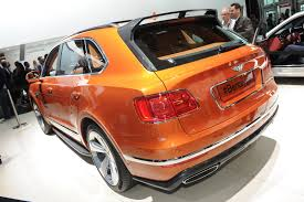 bentley orange bentley allegedly plans a faster bentayga