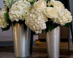 Tin Buckets For Centerpieces by Galvanized Etsy