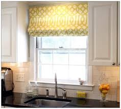 Kitchen Curtains Valance by Kitchen Adorable Yellow Curtain Image Of Fun Kitchen Window