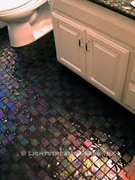 Black Sparkle Floor Tiles For Bathrooms Lightstreams Glass Bathroom Floor Tile Dark Silver Grey Black