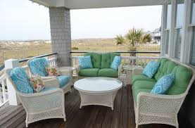 White Wicker Patio Furniture Summer Decors Infused With White Wicker Furniture