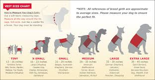 american pitbull terrier size chart silver service dog identification kit 100 made in the usa