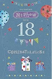 cousin 18th happy birthday card dirty denim fun design 18