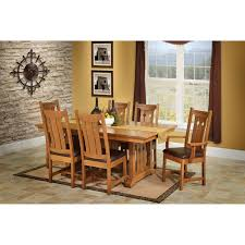 trailway durango 7 pc dining room set stewart roth furniture