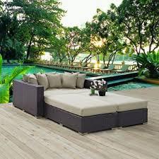 white wicker patio furniture wayfair