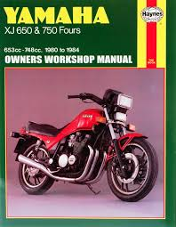 yamaha xj 650 and xj 750 fours owners workshop manual no m738