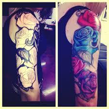 best 25 rose half sleeve ideas on pinterest roses half sleeve