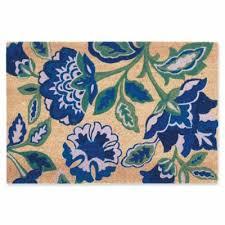 Hawaiian Doormats Buy Navy Blue Door Mat From Bed Bath U0026 Beyond