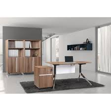 Bookcase Filing Cabinet Combo Unique Furniture 1c300003cwl 300 Series 55 In Computer Desk With