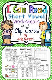 Printable Short Vowel Worksheets 38 Best Reading Worksheets Images On Pinterest Reading