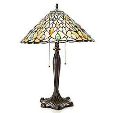 hsn tiffany style lighting shop style at home with margie home online evine