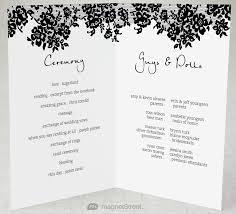 programs for a wedding ceremony ceremony program templates re enhance dental co