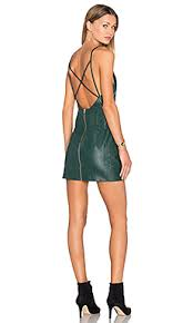 x by nbd charlotte dress in petrol green revolve