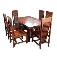 Table Six Restaurant Induscraft Restaurant 6 Seater Dining Table Set Indn20 Dining