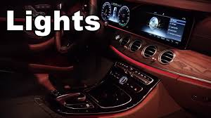 pink bentley interior 2017 mercedes e class interior lights youtube